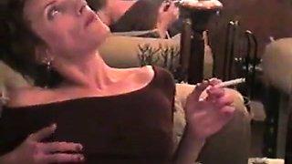 Mom smoking sex
