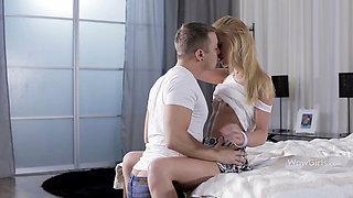 WOWGIRLS – Blonde Girl Zsanett Getting Fucked From Behind
