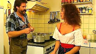 Horny Bavarian doctor from the 80s fucking girls