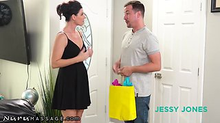 Jessy Jones And India Summer - His Hot New Aunt Gives Legendary Rub Downs