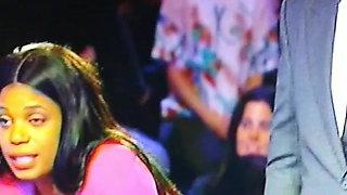Family Feud Thick Palestine contestant & Big tits Black