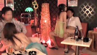 Fabulous Japanese whore in Crazy Swingers, Group Sex JAV scene