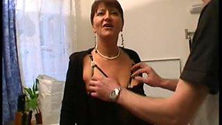 Amazing Stockings clip with Mature,Deep Throat scenes