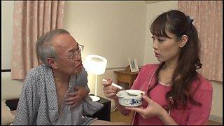 Grandpa commits a young bride ①