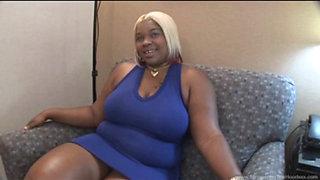 Ebony fuck slut getting fucked hard