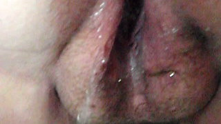 Me squirting a LOT masturbating my clit