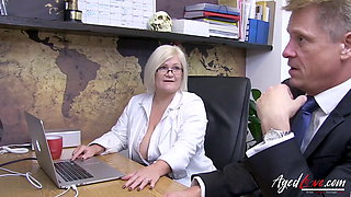 AGEDLOVE – Busty Mature Showing Her Nudes