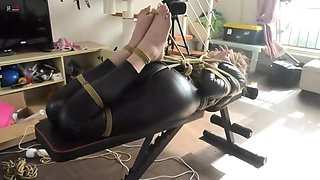 Chinese real bondage video