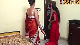 Desi Maid Getting Fucked By Owner
