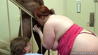 big tits big ass bbw mature threesome
