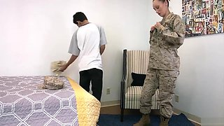 Step Mom in the Marines Slept With Her Step Son