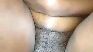 My girlfriend's vagina is very creamy