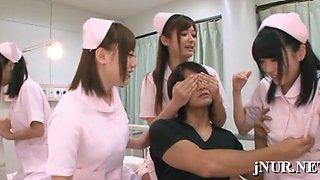 Steamy lesbian nurse xxx