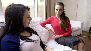Cassidy Klein, Megan Sage In Hot Teacher Fucks Students