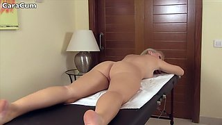I'm enjoying a massage in this amateur blowjobs vid